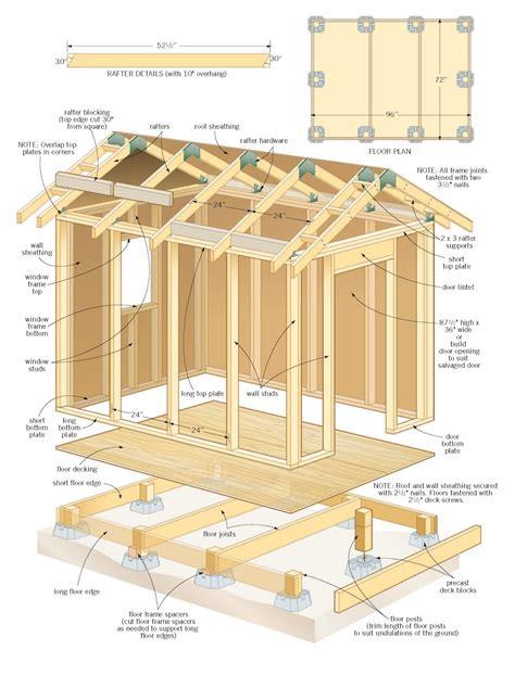 shed plans    wood shed plans  blueprints shed