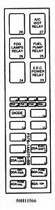 Need A Fuze Box Diagram For A Mazda B2300 4 Cylinder