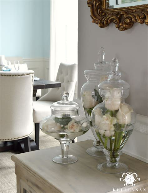 how to decorate apothecary jars 16 ways to style apothecary jars kelley nan