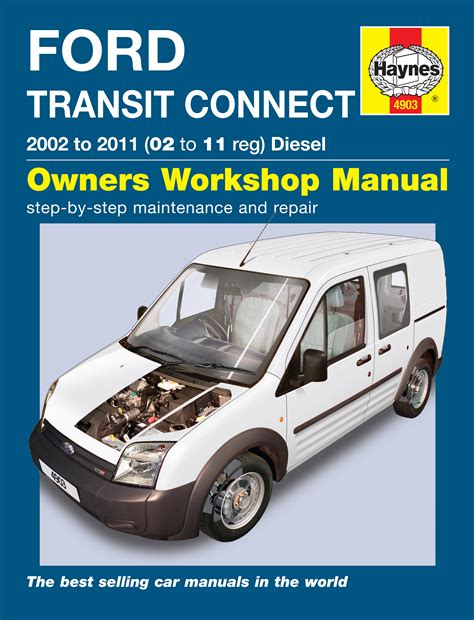 haynes workshop repair manual  ford transit connect
