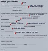 Pictures of Florida Quit Claim Deed Form Template
