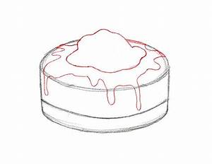 How to draw the Pie with a pencil step by step