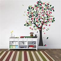 trending tree wall decals Happy Tree Wall Decal | Trendy Wall Designs