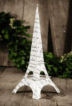 paper eiffel towers and simple pinterest