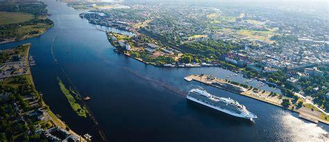 Uzņēmuma izveide un attīstība - Rīgas pasažieru osta