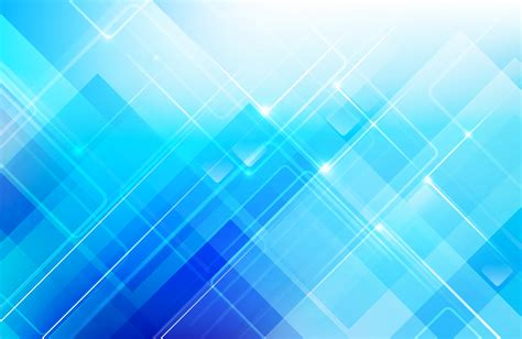 Abstract blue background with basic geometry shape low ...