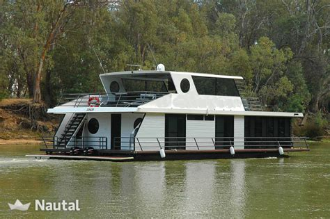 Houseboat On The Murray by Luxurious Houseboat On The River Murray Nautal