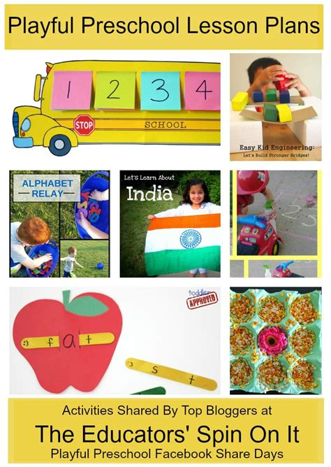 preschool learning activities weekly lesson plan the 168 | Preschool2BBack2Bto2BSchool2BWeekly2BLesson2BPlan