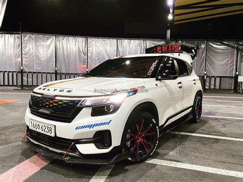 Now in 2021, along with the new brand logo, kia has introduced two new variants and has also. Kia Seltos độ cực chất theo phong cách Lamborghini