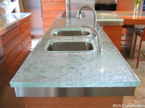 recycled glass countertop tempered glass countertops what you need to glass