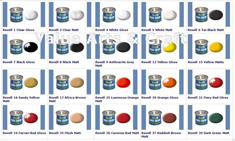 revell email colour enamel paint 14ml tin ebay