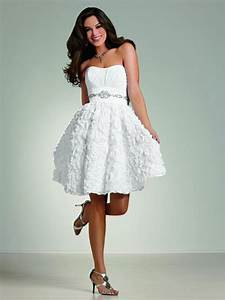 short white country wedding dresses styles of wedding With white short wedding dress