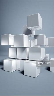 Blank 3d Cubes High-Res Stock Photo - Getty Images