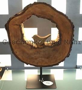 Kerzenständer Holz Groß : skulpturen holzskulptur aus einer birkenholz scheibe gro ein designerst ck von ~ Eleganceandgraceweddings.com Haus und Dekorationen