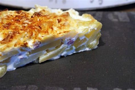 gratin courgettes lardons pommes de terre au thermomix