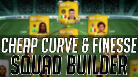 The Best Cheap Curve  Finesse Shot Hybrid Squad  Fifa 14