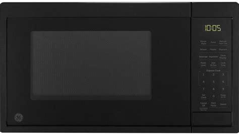 ge countertop microwave black jesdmbb spencers tv appliances