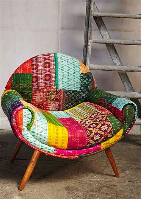 reuse vintage sari fabric  home decor