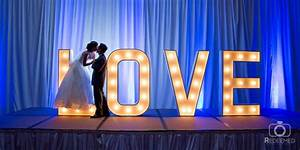 30 best tulsa oklahoma wedding selections images on With marquee letter rental miami
