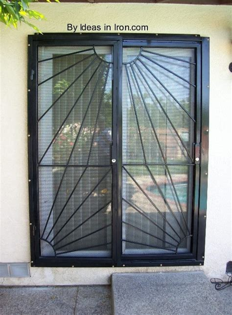 sliding glass patio door security bar door security sliding door security door