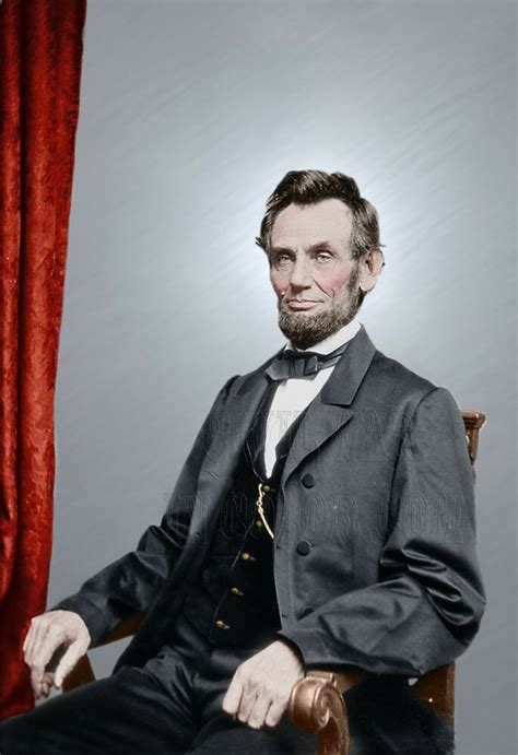what color was abraham lincoln president abraham lincoln color tinted photo civil war