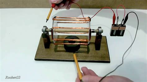 Electric Rotating Motor by Rotation Electric Motor Easy