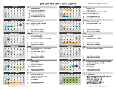 fulton annual school calendar
