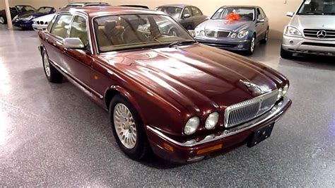jaguar xj dr sedan  vanden plas  sold