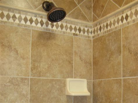 shower wall bathroom tile accent liners shower glass