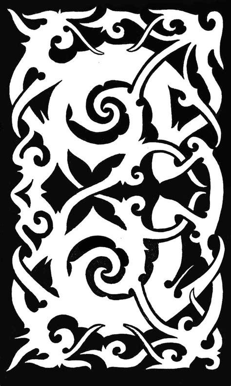 sarawak iban tatto malaysia asian tatto design