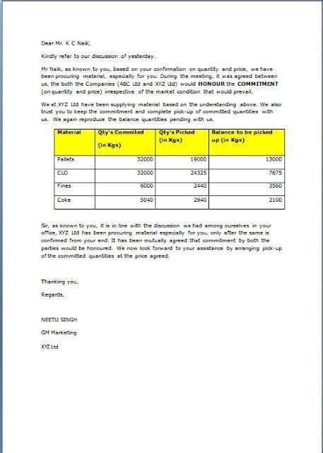 request letter  customer  order sample template
