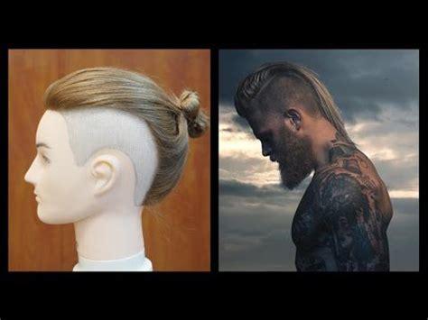 man bun undercut josh mario john inspired haircut