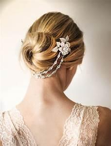 Bridal Hair Chain Wedding Hair Wrap Halo Gold By