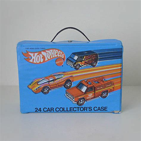 vintage hot wheels car carrying case  halfpintsalvage