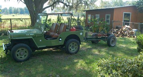 jeep suzuki samurai for sale m 38 m38 army jeep replica suzuki samurai cj3 339 miles