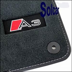 Tapis de sol avec logo audi exclusive audi tapis sol a3 for Tapis de voiture audi a3