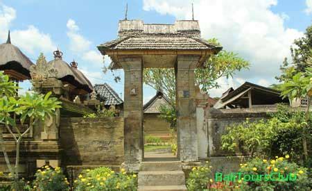 desa penglipuran sebagai objek wisata  bali
