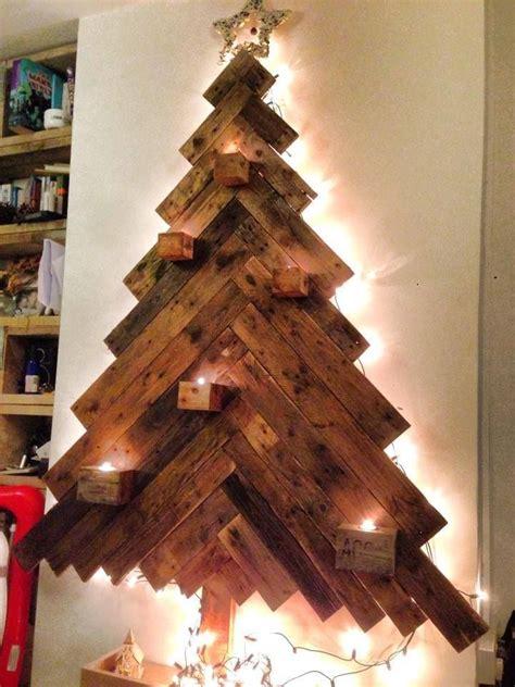 pallet tree    cute creative christmas