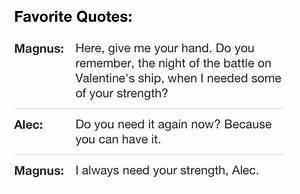 23 Best images about Magnus Bane quotes on Pinterest ...