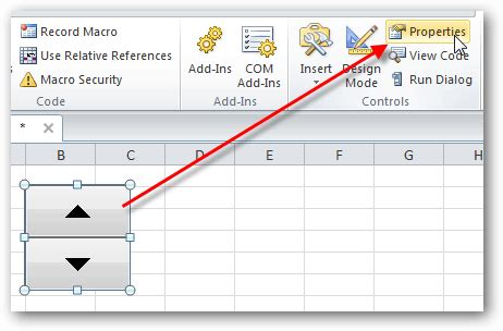 add updown buttons  spreadsheets  excel