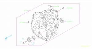 Subaru Impreza Nipple-air Breather  Transmission  Case  Pump  Oil  Automatic