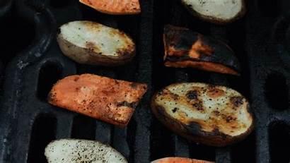 Potatoes Sweet Russet Grilled Burger Summer Grilling