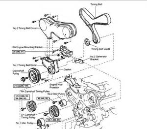 I Have To Change Thermostat  U0026 Water Pump Timing Belts The