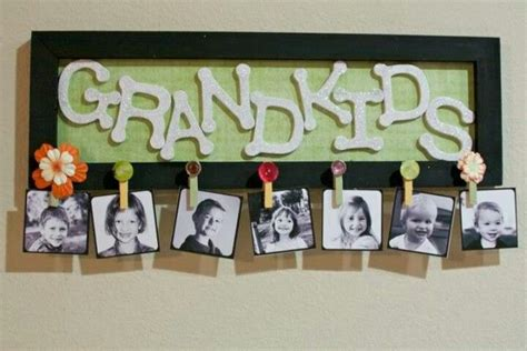 diy gift ideas  grandparents  mom pictures