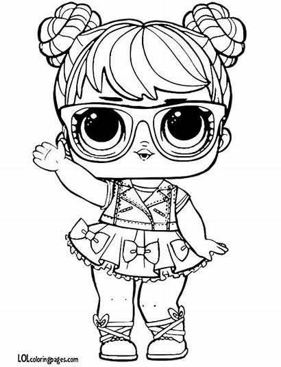 Lol Coloring Pages Doll Printable Colouring Bon