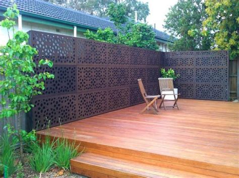outdoor privacy screens for yards elevated decking design ideas get inspired by photos of