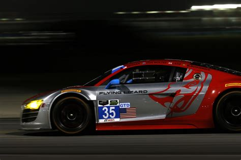 audi  flying lizard  hours  daytona les voitures