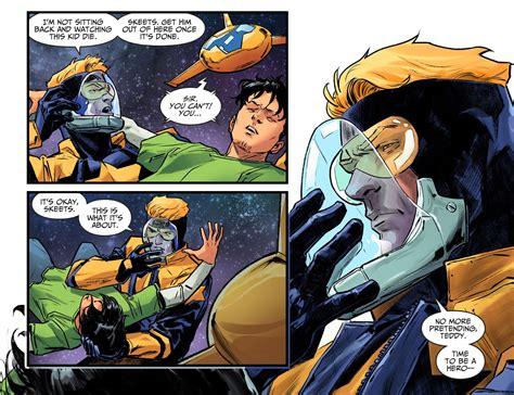 death  booster gold injustice ii comicnewbies