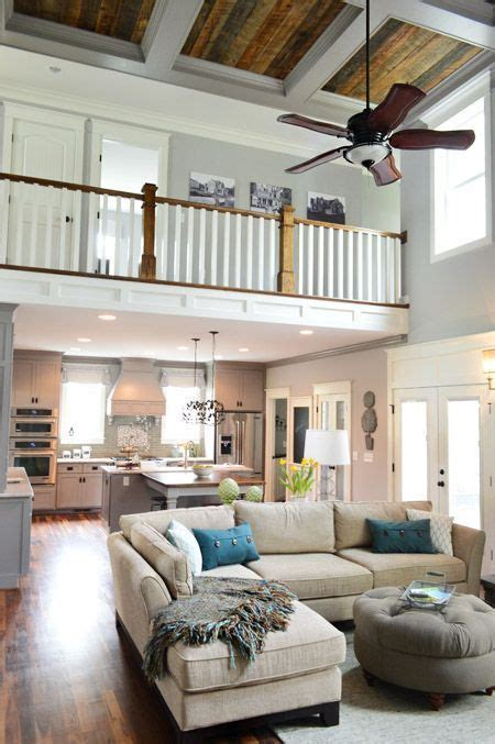 Love the open floor plan and tall ceilings    Home decor