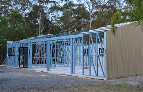 Stud Frame Sheds by Best Budget Outdoor Sheds Patios And Carports Brisbane